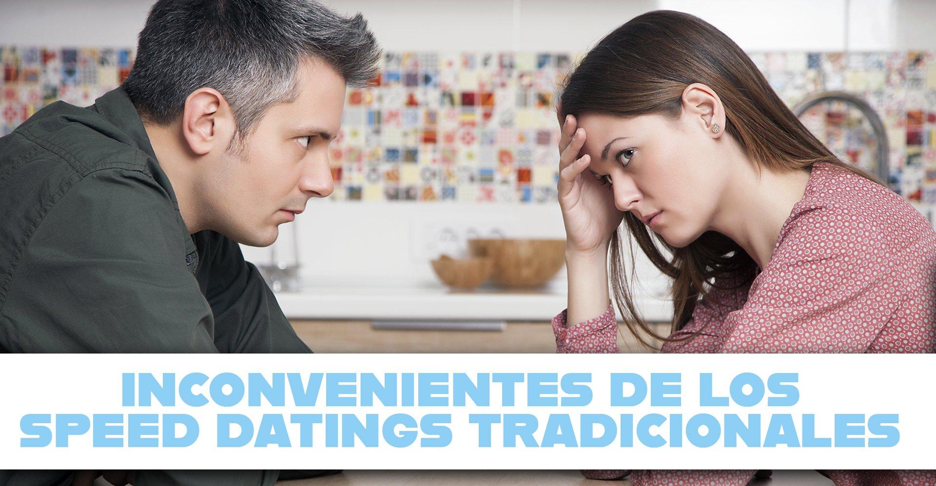 Desventajas del Speed Dating en Barcelona